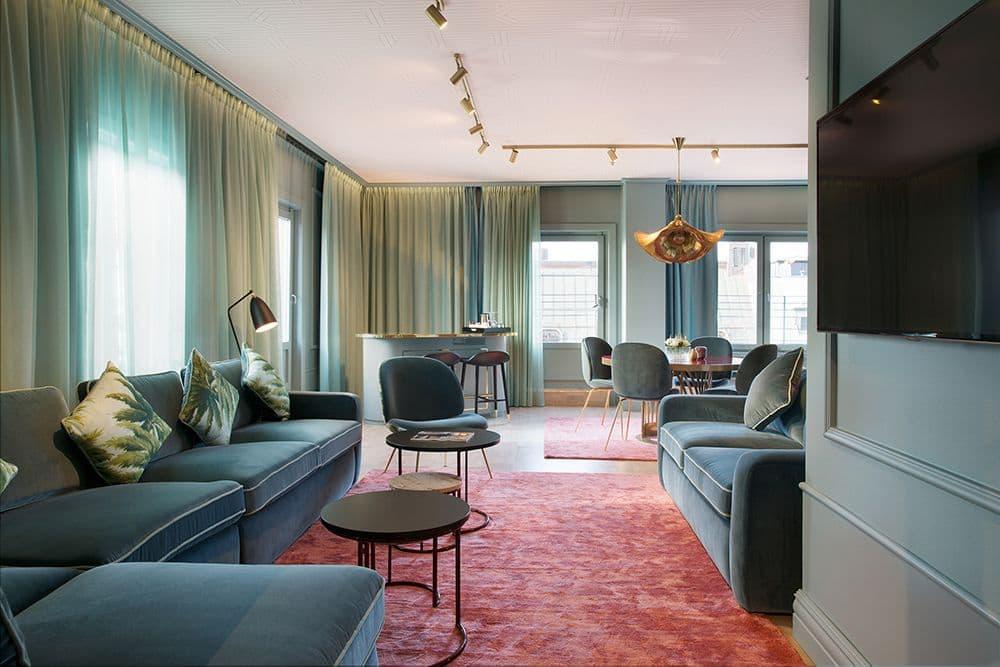 Omtalad hotellsvit blir somrig takbar