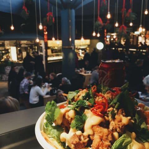Fried Chicken Sallad – Bild från Nook Market av Estelle B.