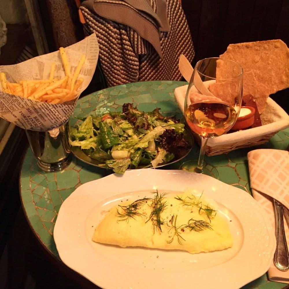 Dagens omelett – Bild från Nybrogatan 38 av Carolina B.
